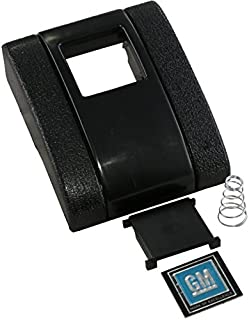Eckler's Premier Quality Products 33183170 Seat Belt Buckle Cover Assembly Standard With GM Logo 72