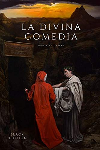 La divina comedia: Edición Black - Nueva Versión para Amazon Books