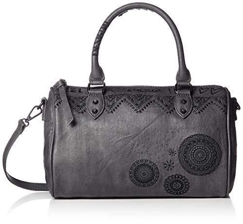 Desigual Bols Albita Nolita Mini Handtasche 27 cm dark gray