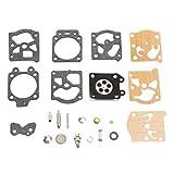Kit de reparación de carburador K20-WAT Juego de Juntas de Herramienta de reconstrucción para Accesorios de Motocicleta Walbro Piezas de reparación Suministro de carburador de Combustible MarinoBIRD