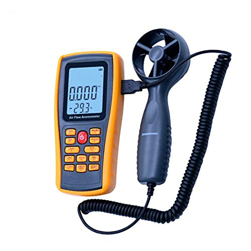 pb+ Anemometer Digitaler Handheld Windmesser Digital LCD Wind Speed Meter Gauge PräZise Messung Der Windgeschwindigkeit
