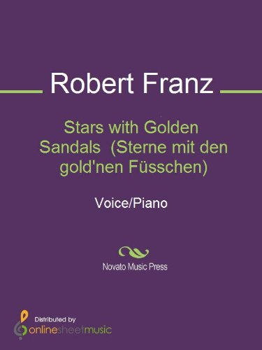 Stars with Golden Sandals  (Sterne mit den gold'nen Füsschen) (English Edition)
