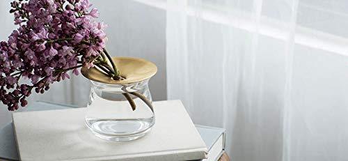KINTO(キントー)花器LUNAベース80x70mmクリア20331