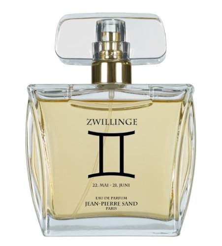 Jean-Pierre Sand Zodiaque Sternzeichen  Zwillinge femme / women / Eau de Parfum, Vaporisateur / Spray, 100 ml