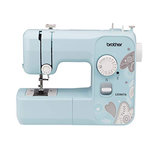 Brother RLX3817A 17-Stitch Sewing Machine, Blue (Renewed)