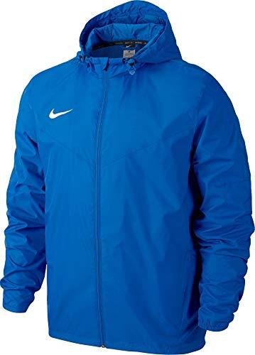 Nike Herren Regenjacke Team Sideline, blau/weiß, S, 645480-463