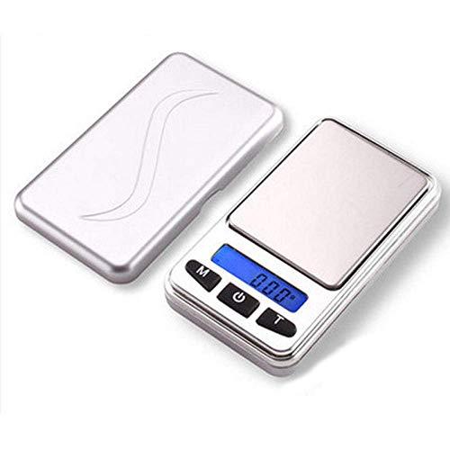 GPWDSN balanza Digital accuweight, balanza Digital de Bolsillo, balanza electrónica 0,01 g, balanza de té, Dijo, pequeña balanza de Plataforma, balanza de joyería, 0,01 g, Mini balanza de Bolsillo,