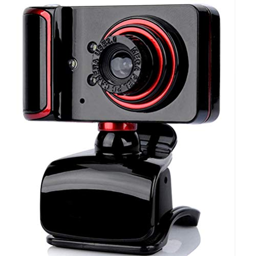 Stylelove Webcam HD Web Camera with Built-in Microphone USB Plug and Play Video Camera for Online Teaching Gaming Conferencing Working