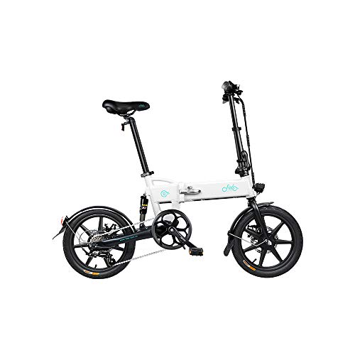 Bicicleta electrica, Bicicletas eléctricas para adultos, FIIDO D2S Bicicleta eléctrica plegable Neumáticos...