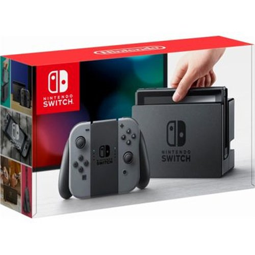 Nintendo Switch with Gray Joy-Con(Version US, Importée)