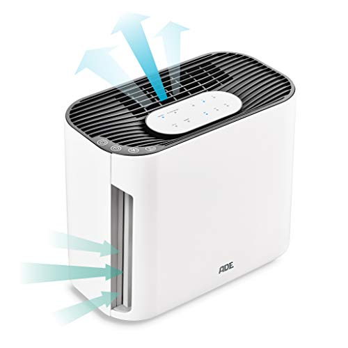 ADE Luftreiniger HM1804 gegen Staub, Viren, Gerüche und zur Allergievorbeugung, weiß