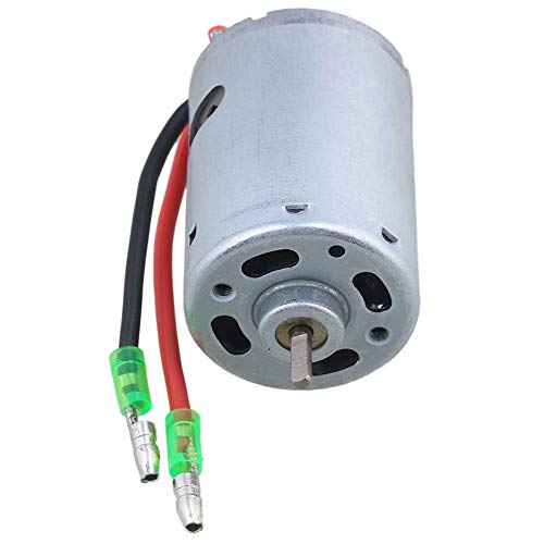 Mxfans Metal 540T Brush Electric Motor 20000RPM 7.2V-12V with Wire for RC1:10 Car