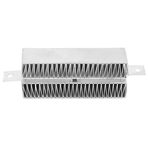 Calefacción termostática PTC -74 * 22mm 12 V/24 V termostato automático placa calefactora de ondulación PTC conductora(24V 50W)