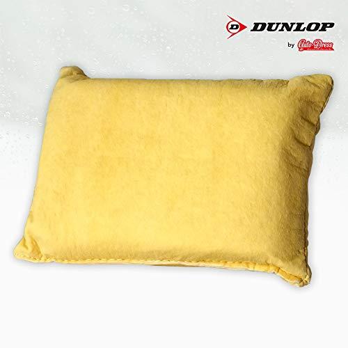 auto-Dress.de Lederschwamm Dunlop - Klare Scheibe - Kein Kondensieren für Cockpit Scheiben