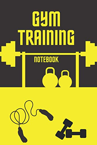 Gym Training Notebook: For Planning Checking Correcting And Keeping The Course