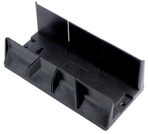 Kireina La Caja de ingletes para carpinter/ía la Mano de Corte de Madera VIO la Herramienta de Hardware 14 Pulgadas con Abrazadera la Caja de inglete de pl/ástico la poda VIO