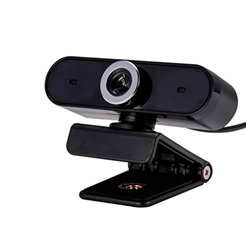 Sayla HD Webcam 1080P HD Pro Stream Video Streaming, Aufnahme, Conferencing Digitale Webkamera HDR Video mit Mic USB Widescreen für PC, Laptops und Desktop (Black)