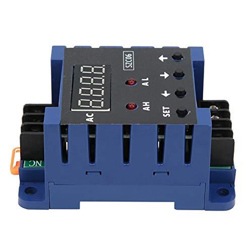 Amperímetro de CA, Amperímetro estable SZC06, Plástico AC110‑220V para equipos de bajo voltaje Suministros industriales(100A)