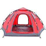 Wnnideo Instant Family Tent Automatic Pop Up Tents for Outdoor Sports Camping Hiking Travel Beach