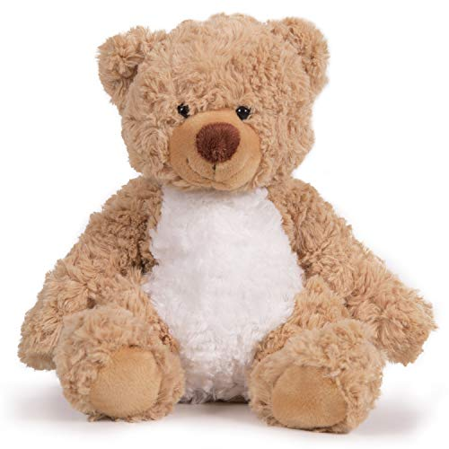 Narwhal Novelties 8' Scruffy Cuddly Brown Teddy Bear for Her or Him
