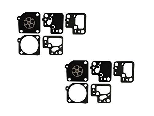 Carburateur Pakking en Diafragma Kit Vervangt ZAMA GND-108 Voor ZAMA C1T-S195 Stihl HS46 HS56 heggenschaar (Pack van 2)