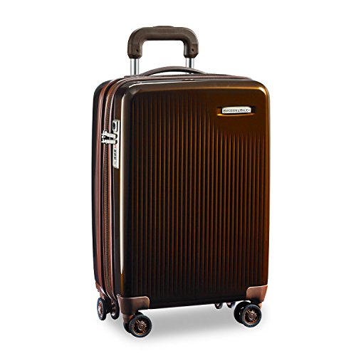 Briggs & Riley Sympatico International Carry-On Expandable Spinner Hand Luggage, 53 cm, 53 liters, Bronze