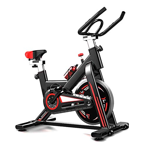 XIUQI Bicicleta Estática Plegable,Bicicleta Fitness con 8 Niveles De Resistencia, Inicio Entrenador De Ciclismo para Interiores Equipo De Fitness