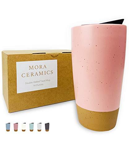 microwavable ceramic mug with lid - 3
