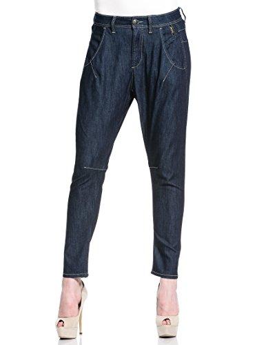Meltin'Pot Miambi Damen Jeans/ Capri & 7/ 8, Gr. 26/ 28 Blau (Confort blaue RW007)
