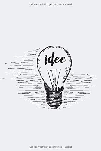 idee: 120 seitiges Softcover Notizbuch im A5+ Format mit Punkteraster | Notizbuch - Tagebuch - Journal - Schulheft - Collegeblock