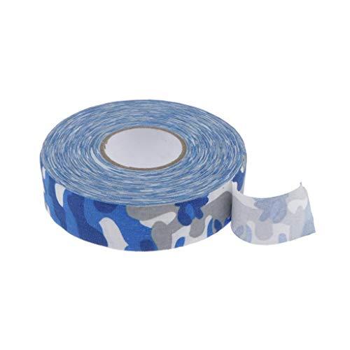 CUTICATE Schlägertape Hockey Tape 25mm für Eishockeyschläger - Blaue Tarnung