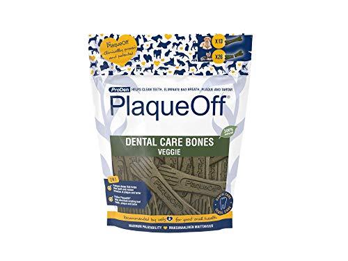ProDen PlaqueOff System Dental Care Bones for Dogs - Vegetable 17 oz
