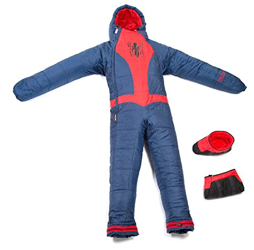 Selk'bag Youth Marvel Spider Man Sleeping Bag, Blue, X-Small