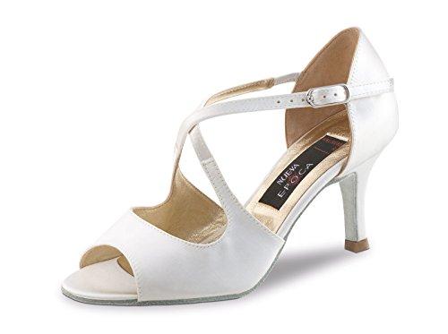 Nueva Epoca Mable LS - Zapatos de novia para mujer, tacón de...