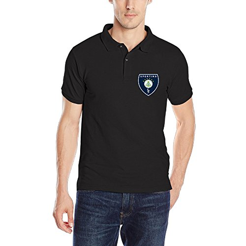 Sporting JB Marine Affiliate Mens Casual Polo Tshirt Size S Color Black