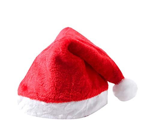 QAZ Kerst hoed volwassen hoed kind hoed cartoon kerstmuts