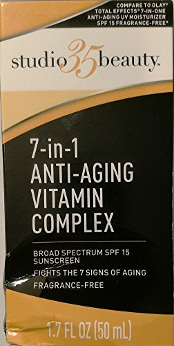 Studio 35 Beauty 7-in-1 Anti-aging Vitamin Complex with Sunscreen