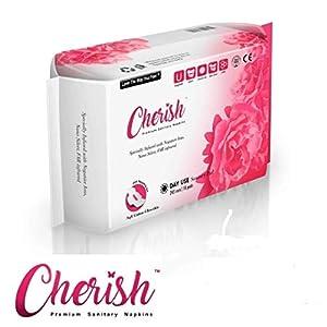 4 Pack Cherish Premium Sanitary Napkins - Day, Night, Overnight, Liners (You Choose Combo)