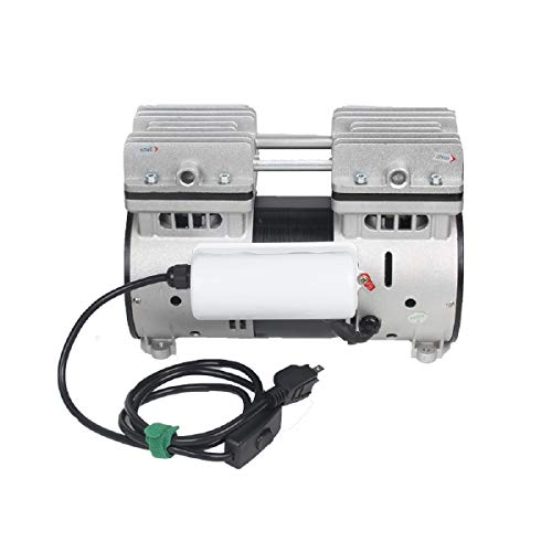 6CFM 110V Vacuum Pump 800W Oil Less Vacuum Pump Hausfeld Quiet High Vacuum Piston Compressor with US Plug