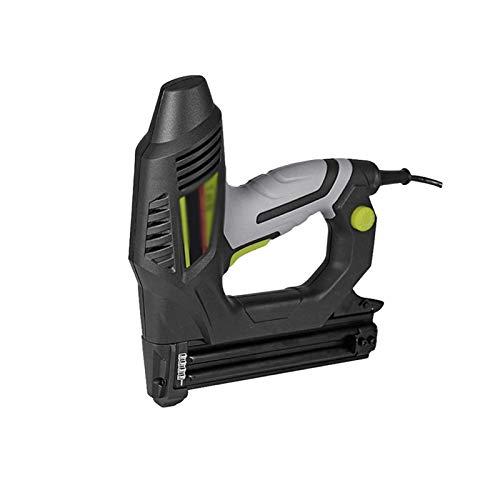 Sdesign Nailer Brad eléctrico, Pistola eléctrica de uñas/Pistola de Grapas para pequeños proyectos de tapicería, mejoras para el hogar y carpintería para 15-32 mm Grapadora Recta