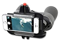 Snapzoom Universal Digiscoping Adapter for iPhone Android and Windows Smartphones. Compatible with Binoculars Spotting Scopes Telescopes and Microscopes. [並行輸入品]