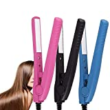 Hair Straightening Irons Ceramic Hair Care Curl Straightener Flat Iron Perm Splint Tourmaline US Plug Curling Irons Styling Tools Curl Straightener