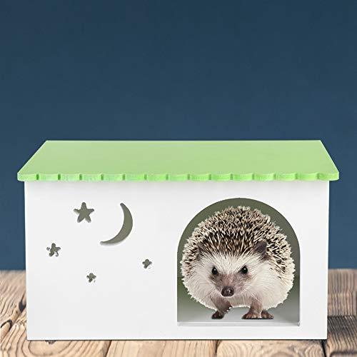 idalinya Jaula para Mascotas, Caja para erizos, cabaña para Mascotas, casa para Mascotas, Nido para Conejos, cabaña para Conejillos de Indias, Impermeable para hámster, Ratones, hogar