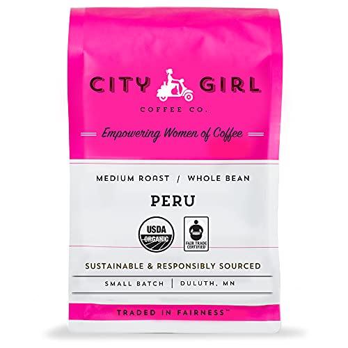City Girl Coffee Organic & Fair Trade Single Origin Peru