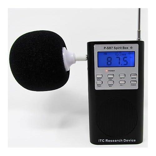 Amazon.com: P-SB7 Spirit Box ITC Research Device - 2018 Version - FM/AM Equally Balanced -Noise Cancellation: Home Audio & Theater