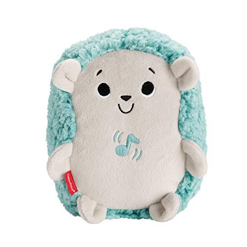 Fisher-Price Erizo Vibración y Sonidos, juguete de cuna y peluche para bebé recién nacido (Mattel FXC66)
