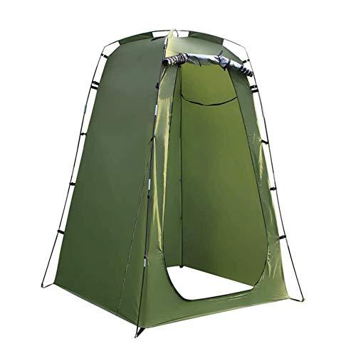 TOPofly Ducha de Privacidad Carpa, Portátil privacidad Pop Up Camping WC Carpa Lluvia Refugio extraíble Vestir Vestuario Campo de Aseo con Bolsa de Transporte