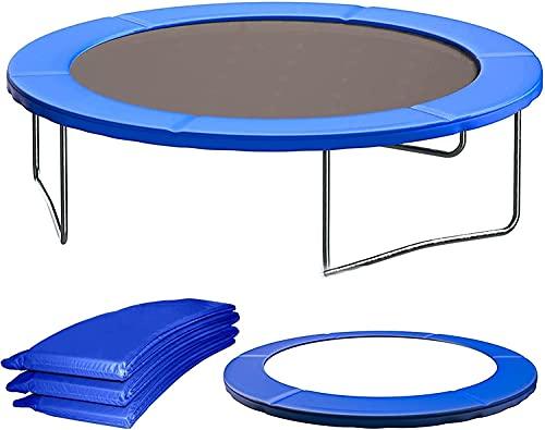 VULLDWS Reemplazo de la almohadilla de la cubierta de trampolín, Guardia de seguridad de espuma de sonido envolvente, 6 pies 8 pies 10 pies 12FT 13FT 14FT, resistente a los rayos UV, resistente al des