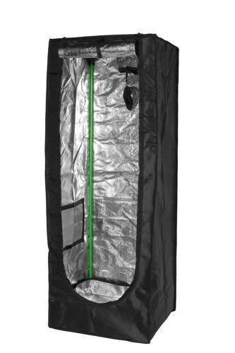 Herbgarden 50 Growbox Growzelt 50x50x140cm Zuchtzelt 0.5x0.5x1.4m Pflanzzelt