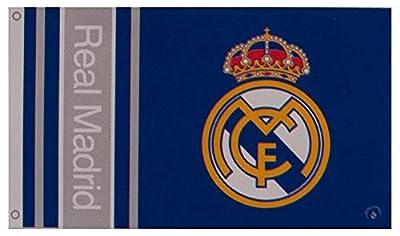 Real Madrid Crest Flag - Authentic Primera Liga Merchandise